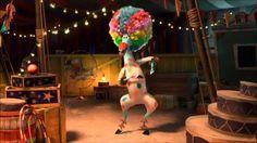 Just because I like Random stuff, n all....Enjoy! LOL! Afro Circus/ I Like To Move It: Music Video