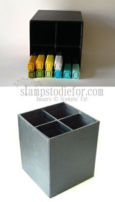 I purchased 2 of these for under $4 each, at Target to store my Stampin' Up! #blendabilities.  Work GREAT!