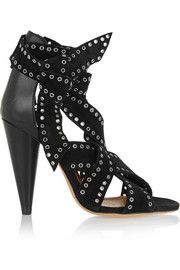 Isabel MarantAnaid studded suede and leather sandals