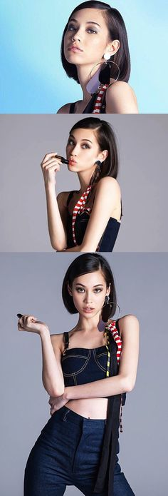 Kiko Mizuhara. Ellen Von Unwerth, High Fashion Photography, Glamour Photography, Lifestyle Photography, Editorial Photography, Cindy Crawford, Korean Beauty, Asian Beauty, Asian Woman