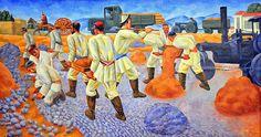 Building a Road (1932), N. Karaxan (1900-1970) http://fazendoartedmc.blogspot.com.br
