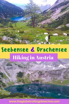 It's one of the most amazing hikes in Austria. Here is how to get to Seebensee and Drachensee from Munich, about the hike from Ehrwald to these two lakes, and how much it costs. #austria #austriahike #tyrol #reutte #wetterstein #hiking  I The most beautiful travel destinations in Europe I The best hikes in Austria I Things to do in Tyrol I Munich day trips I The most stunning lakes in Europe