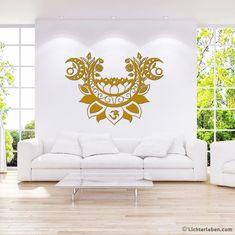 Das Wandtattoo Moonlight Lotusblume Yoga Design ist eine Inspiration vom Mondgruss eine Yogapraxis Reihe ähnlich wie der Sonnengruss.Möchtest du wissen wie der Mondgruss aus dem Yoga gemacht wird ???  hier gehts zum Blogbeitrag mit Mondgrussund einem Mondkalender zum Download und Ausdrucken #lichterleben