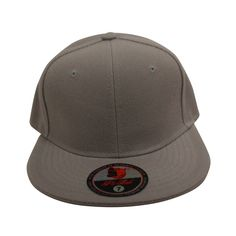 Loyal Cloth Plain Gray Fitted Cap