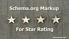 #Schema.org #Markup to Display #Star #Rating for #Blog #Post on #Search #Result?