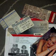 . Ticket Stubs, Blink 182, Concert Tickets, Logs, Event Ticket, Journals