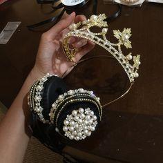"""Black Queen"" Crowned Headphones by litheadphones | SPRING/SUMMER 2017"