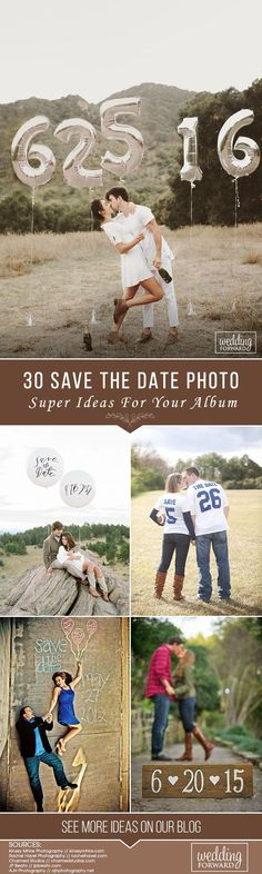 Save this day in your memories and your album! Look for the best ideas for your save the day photo and pick some which will touch your heart!