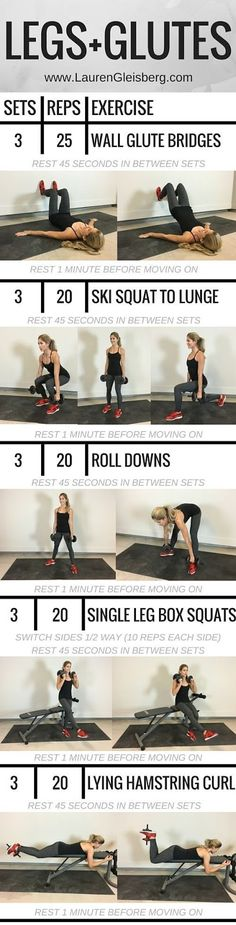 Work It Baby - Work It!: Leg And Glute Workout