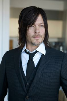 """Meet Norman Reedus. For """"5 min with Franny"""". See the pics and read his comments! Full interview."""