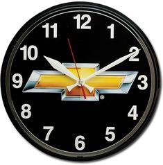Chevrolet Bowtie Wall Clock