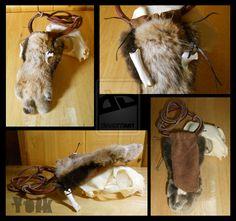 Bobcat Paw Medicine Bag - SOLD by Shamans-Yoik.deviantart.com on @deviantART