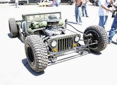 Rat rod Jeep