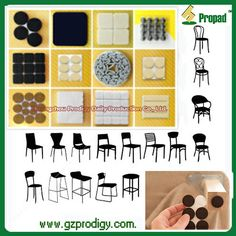 Felt Pad/ Chair Legs Protector/Floor Protector Pads. For More Products  Details In