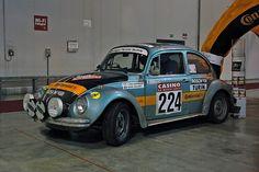 Um vencedor histórico de rallys...   Venceu muitas marcas e grandes carros  #vw #beetle #bug