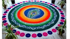 Free Easy and Simple Latest Indian Rangoli Designs Images