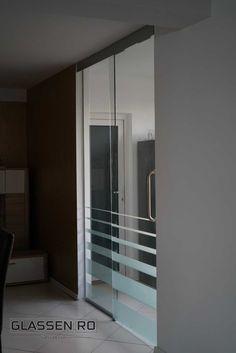 Sliding Glass Door, Sliding Doors, Modern Glass, Stairs, Mirror, Furniture, Home Decor, Ladders, Homemade Home Decor