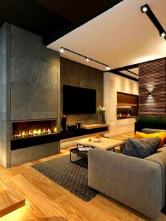 Best Traditional and Modern Fireplace Design Ideas Photos & Pictures 45 Best Traditional and Modern Fireplace Design Ideas Photos & Pictures Eclectic Living Room, Elegant Living Room, Living Room Tv, Living Room Modern, Living Room Designs, Living Room Ideas Modern Contemporary, Cozy Living, Small Living, Modern Bedroom