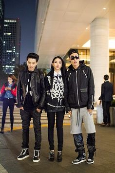 Streetstyle: CL in KYE and Yang Gaeng at Seoul Fashion Week S/S 2014