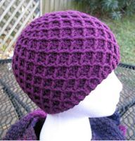 Sweet Nothings Crochet: A DIAMOND AND A HONEYCOMB UNISEX BEANIE
