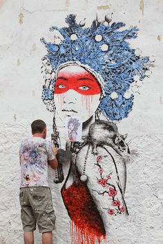 La Candelaria, Bogota by Fin DAC, via Flickr