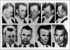 The many faces of John Dillinger