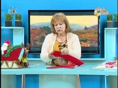 Clases de Manualidades Navideñas arlequines Paso a paso - YouTube Christmas Makes, Christmas Time, Christmas Crafts, U Tube, Felt Decorations, Projects To Try, Merry, Quilts, Painting