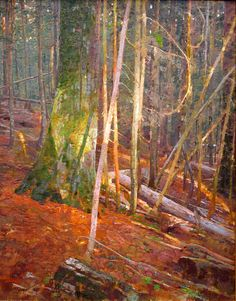 Fragment of Light: oil on linen, 38 x 30 in. George Carlson