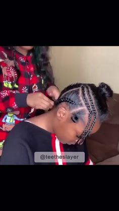- Prom Makeup Looks Quick Weave Hairstyles, Black Ponytail Hairstyles, Braided Hairstyles, Quick Weave Styles, Quick Weave Bob, Curly Hair Styles, Natural Hair Styles, Hair Game, Girls Braids