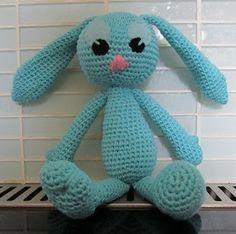 """Crochet amigurumi bunny"" #Amigurumi  #crochet"