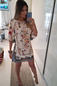 Trendy Fashion, Girl Fashion, Womens Fashion, Sexy Outfits, Pretty Outfits, Vestidos Farm, Frock Dress, Hippie Outfits, Weekend Outfit