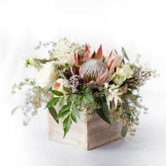 King Protea Centerpiece – Pops of Plum Protea Centerpiece, Flower Centerpieces, Wedding Centerpieces, Wedding Table, Wedding Decorations, Rustic Centerpieces, Centrepieces, Party Wedding, Garden Wedding