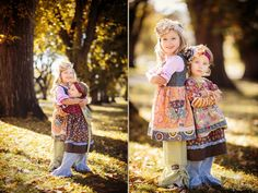 Fall Family Photo - Cute Girl Outfits