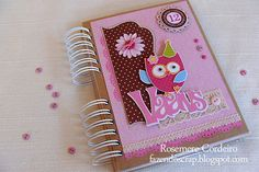 Hand Made and Personalised Birthday Guest Book
