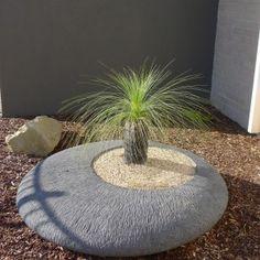 Ellipse Bowl- Natural Stone » Architectural Bowls & Pots » Designer Water Features