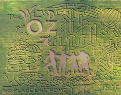 Get Lost in These Amazing Corn Mazes: Farmstead Corn Maze: Meridian, ID