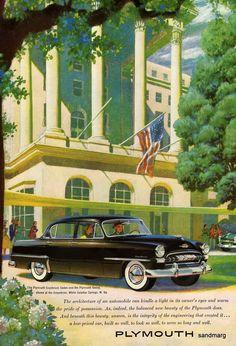 1953 Plymouth Cranbrook Sedan and Plymouth Savoy