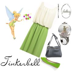 Tinkerbell Inspired Outfit