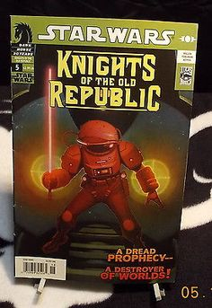 Star Wars Knights of the Old Republic A Dead Prophecy  Lucas Comic Books
