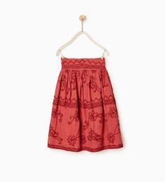 Golden midi skirt - Falda largo midi. Cintura elástica. Forro interior