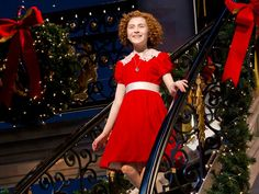 'I Think I'm Gonna Like It Here!' Annie Opens at Broadway's Palace Theatre