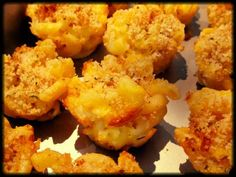 Mini Mac 'n Cheese Muffins by Sprint 2 the Table