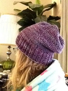 Ravelry: Mock Cable Hat with Seed Stitch pattern by Karen Van Raden