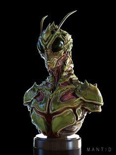 Fantasy Model, Fantasy Races, Dark Fantasy, Fantasy Art, Alien Creatures, Fantasy Creatures, Illustration Techniques, Superhero Design, Crop Circles