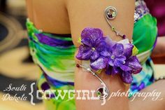 Arm Cuff Corsages   Upper Arm Wire Beaded Corsage Cuff (Bracelet) - inspiration for High ...