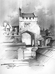 Thomas W. Schaller「Gate to Cathedral Green」