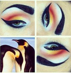 penguin makeup :)                                                                                                                                                                                 Mehr