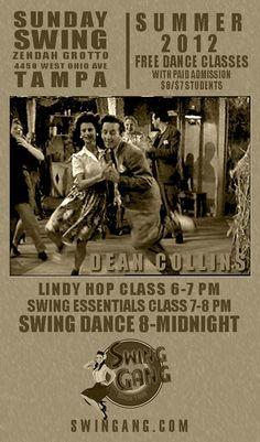 Swing Dancing at Zendah Grotto every Sunday
