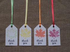 24 Fall Wedding Favor Tags, Leaf, Autumn, Leaves, Bridal Shower, Engagement, Anniversary, Baby Shower, Birthday, Gift Tags, Thanksgiving