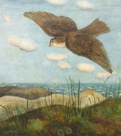Milena Pavlović-Barili, Silence (Bird Flying), 1937